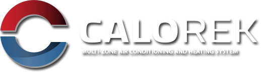 Calorek for a multi-zone air conditioning and heating system